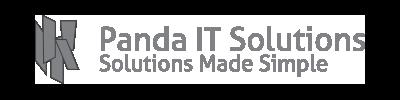Panda It solutions logo vector