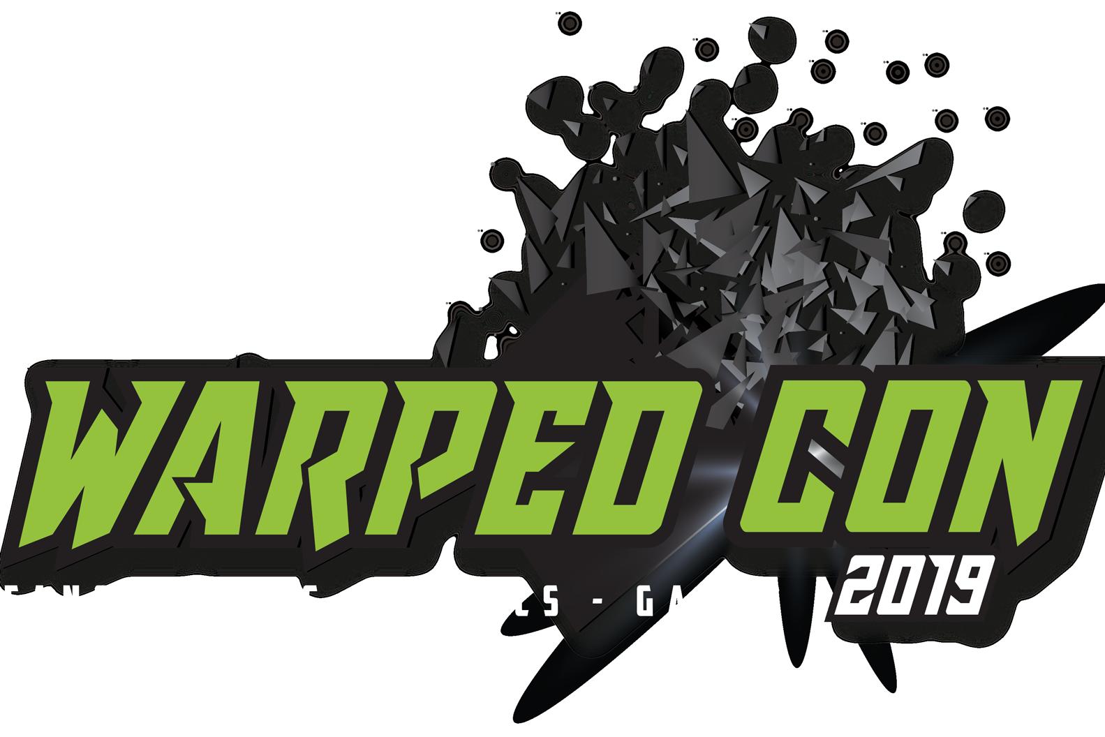 Large Warped Con logo