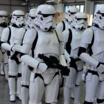 Sentinel Squads stormtroopers on parade