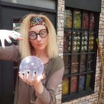 Fun Zone shop front with crystal ball