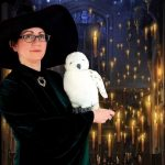 Fun Zone Witch cosplay with fake owl