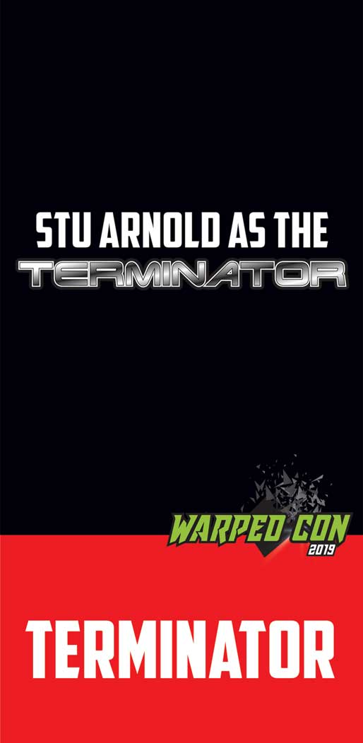 Stu Arnold as the Terminator carousel image