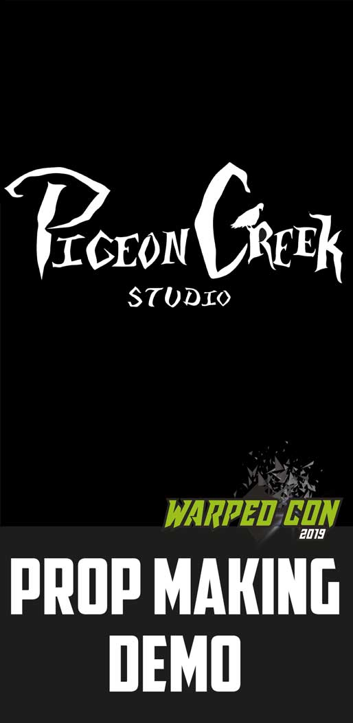 Pigeon Creek prop making demo carousel image
