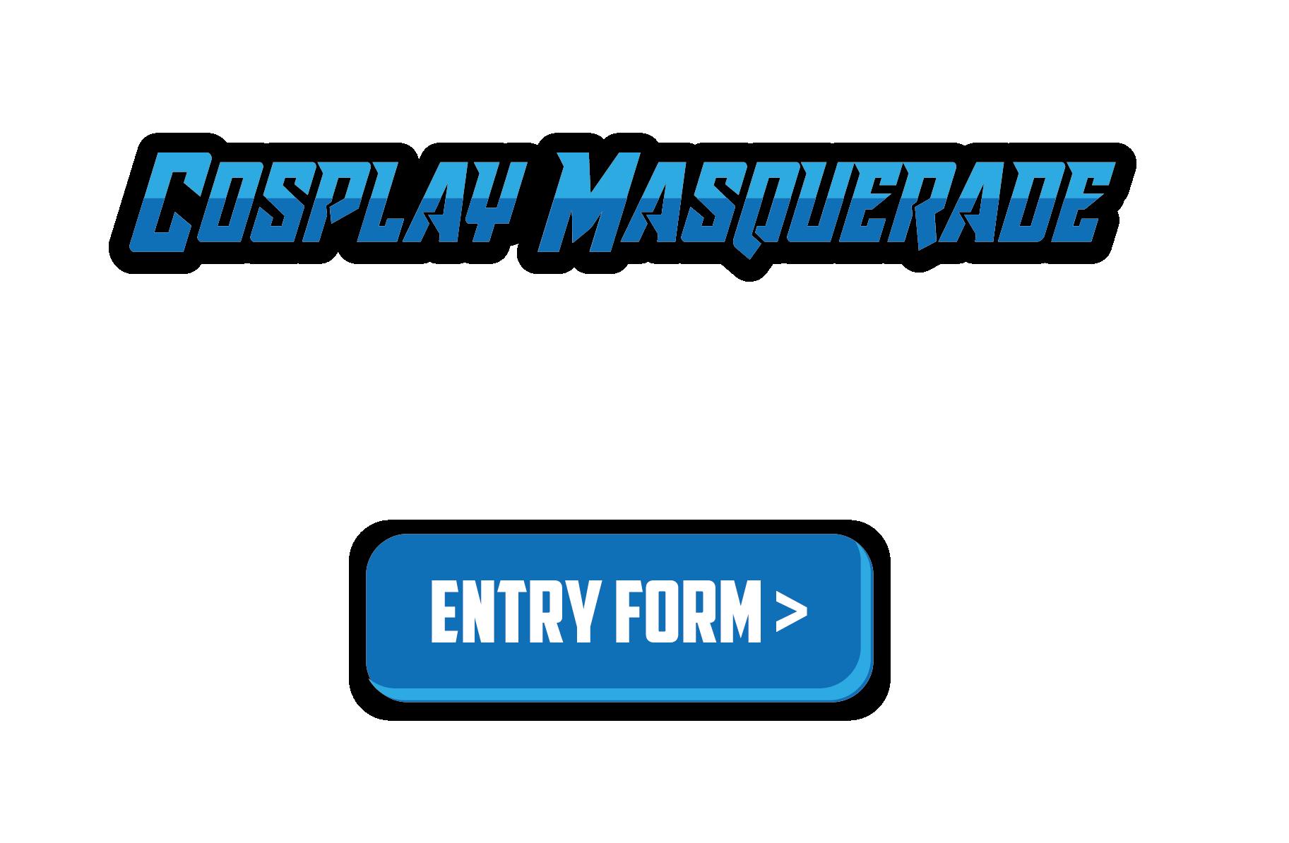 Cosplay masquerade logo