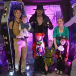 Taker UK with a family attending a con