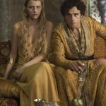 Trystane and Myrcella in Dornish dress