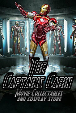 The Captains Cabin Movie collectable and cosplay store poster