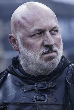 Dominic Carter as Janos Slynt in HBO Series Game of Thrones