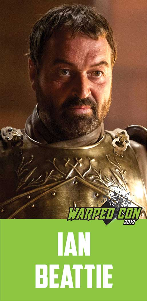 Ian Beattie as Ser Meryn Trant in HBO Series Game of Thrones