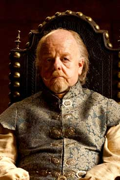 Roger Ashton-Griffiths as Mace Tyrell in HBO series Game of Thrones